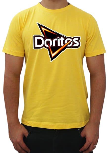 0d044727a Camiseta amarela unissex com estampa em Dark Transfer